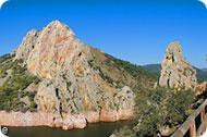 Salto del Gitano. Monfragüe Rural. Parque Nacional de Monfragüe. Cáceres.
